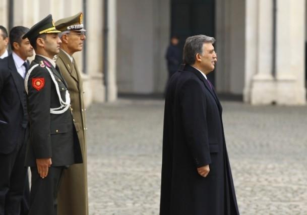 Cumhurbaşkanı Abdullah Gül İtalya'da 7