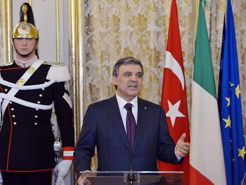 Cumhurbaşkanı Abdullah Gül İtalya'da 8