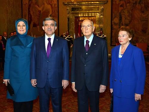 Cumhurbaşkanı Abdullah Gül İtalya'da 9