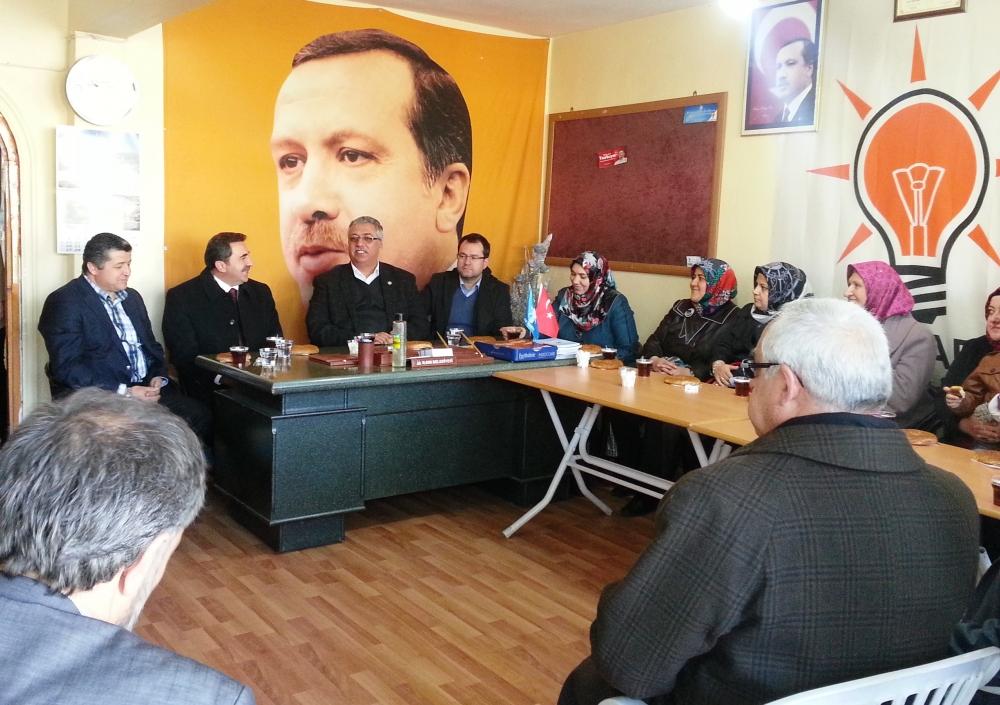 AK Parti Konya seçim çalışmalarına başladı 6
