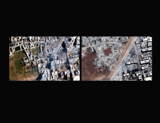 Esad'ın yeni silahı: Buldozer 1