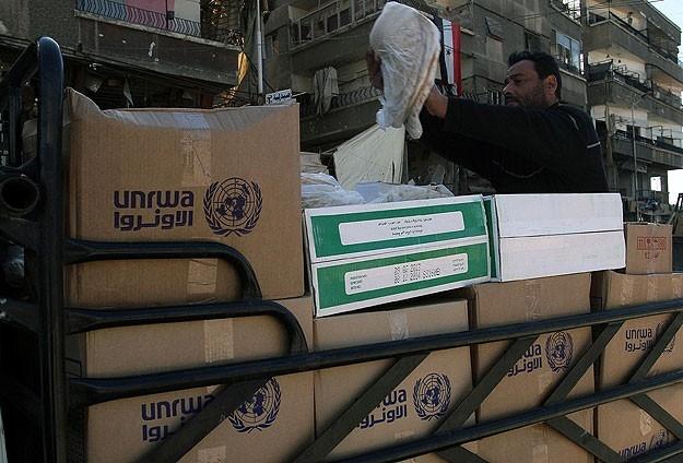 Yermuk mülteci kampına 2 bin 500 adet yardım paketi 9