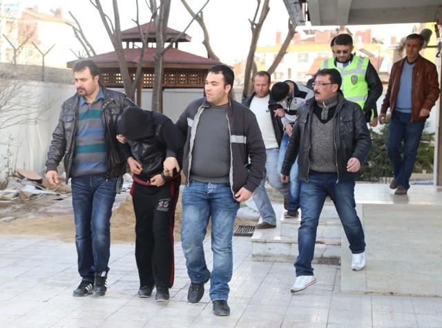 Konya'da hırsızlık 1