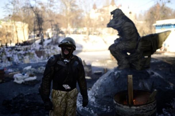 Ukrayna'da hükümet karşıtı gösteriler 10