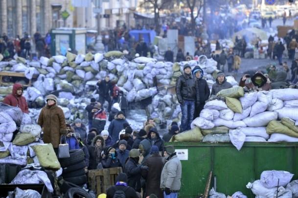 Ukrayna'da hükümet karşıtı gösteriler 11