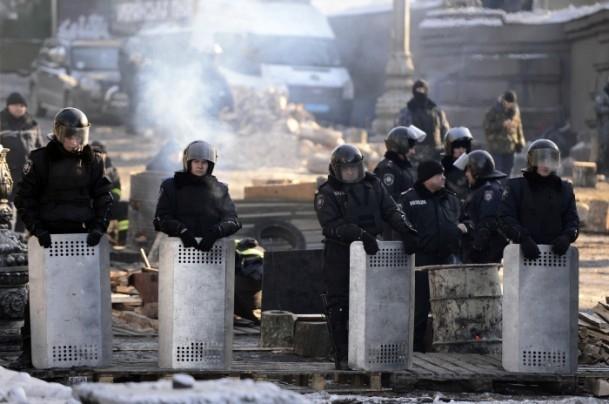 Ukrayna'da hükümet karşıtı gösteriler 12