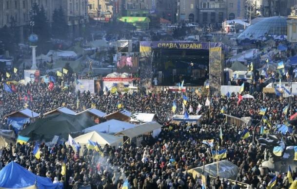 Ukrayna'da hükümet karşıtı gösteriler 13
