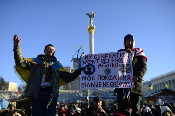 Ukrayna'da hükümet karşıtı gösteriler 15