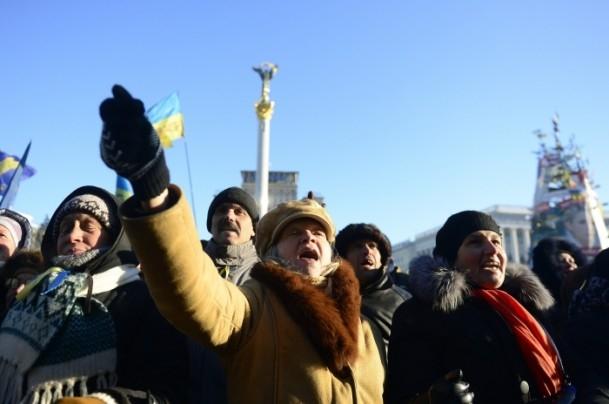 Ukrayna'da hükümet karşıtı gösteriler 16
