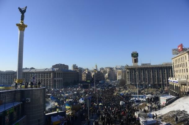 Ukrayna'da hükümet karşıtı gösteriler 3