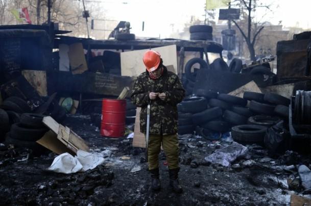 Ukrayna'da hükümet karşıtı gösteriler 5