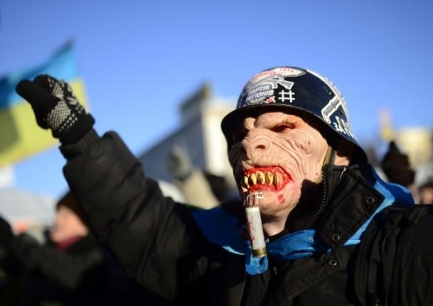 Ukrayna'da hükümet karşıtı gösteriler 7