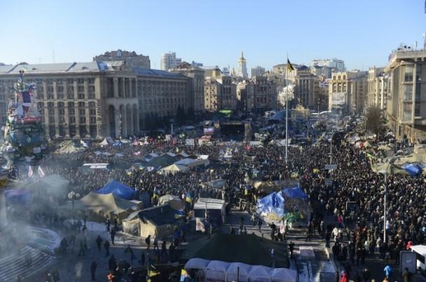 Ukrayna'da hükümet karşıtı gösteriler 8
