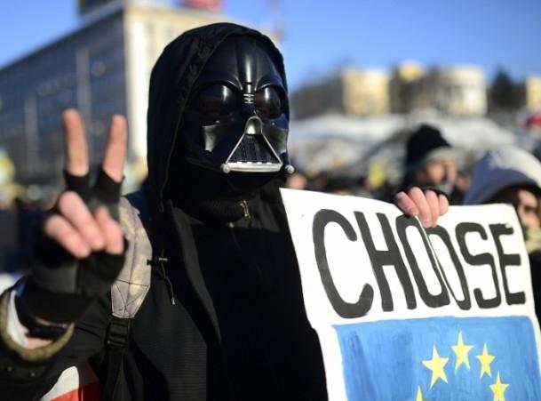 Ukrayna'da hükümet karşıtı gösteriler 9