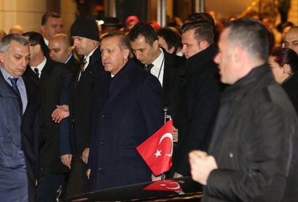 Başbakan Erdoğan'a Almanya'da coşkulu karşılama 5
