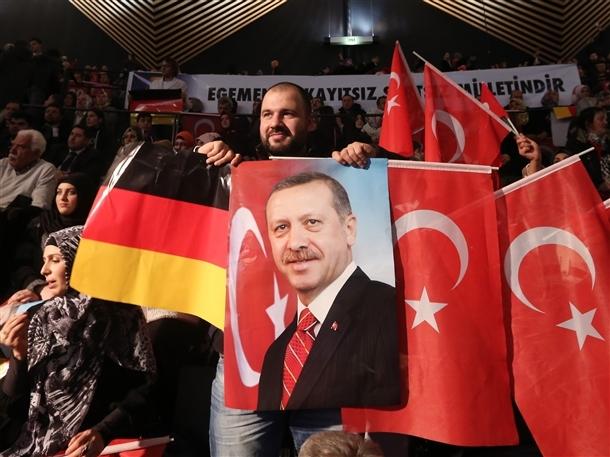 Başbakan Erdoğan Berlin'de 10