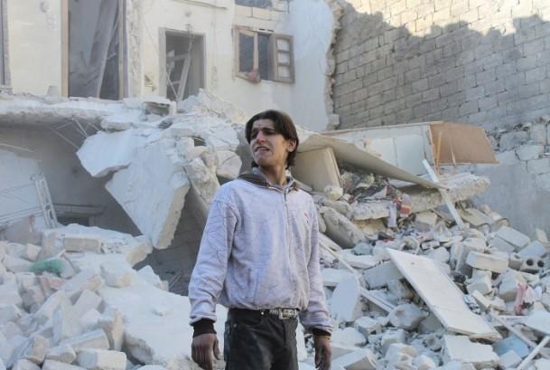 Esed yine varil bombasıyla vurdu 1