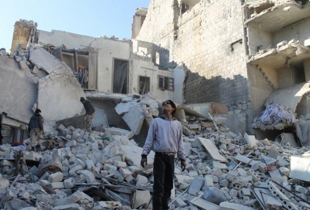 Esed yine varil bombasıyla vurdu 13
