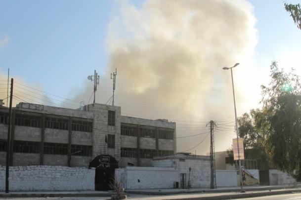 Esed yine varil bombasıyla vurdu 2