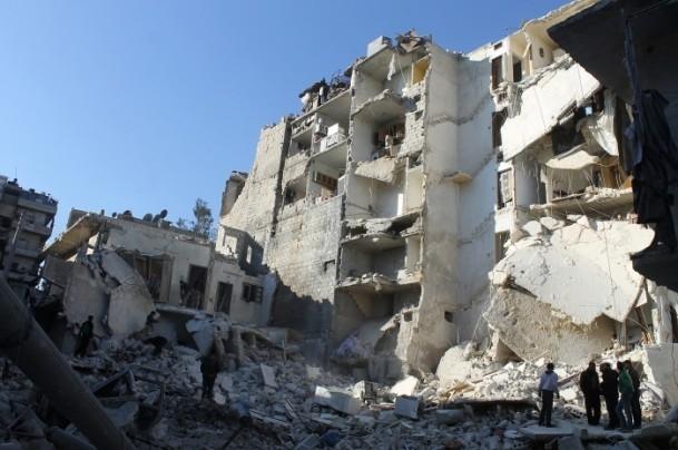 Esed yine varil bombasıyla vurdu 3