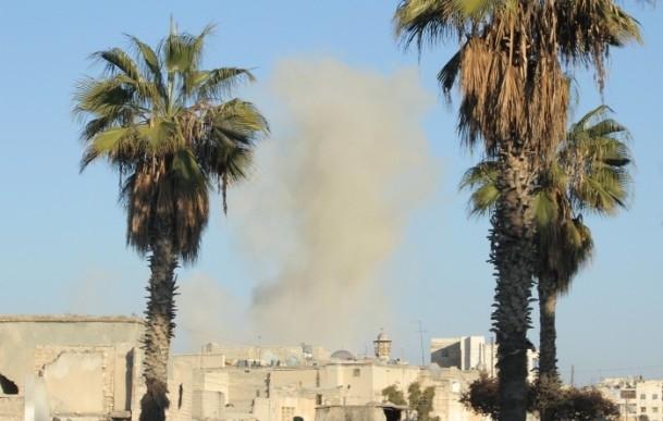 Esed yine varil bombasıyla vurdu 4