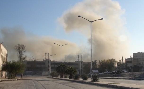 Esed yine varil bombasıyla vurdu 5