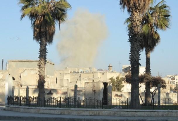 Esed yine varil bombasıyla vurdu 9
