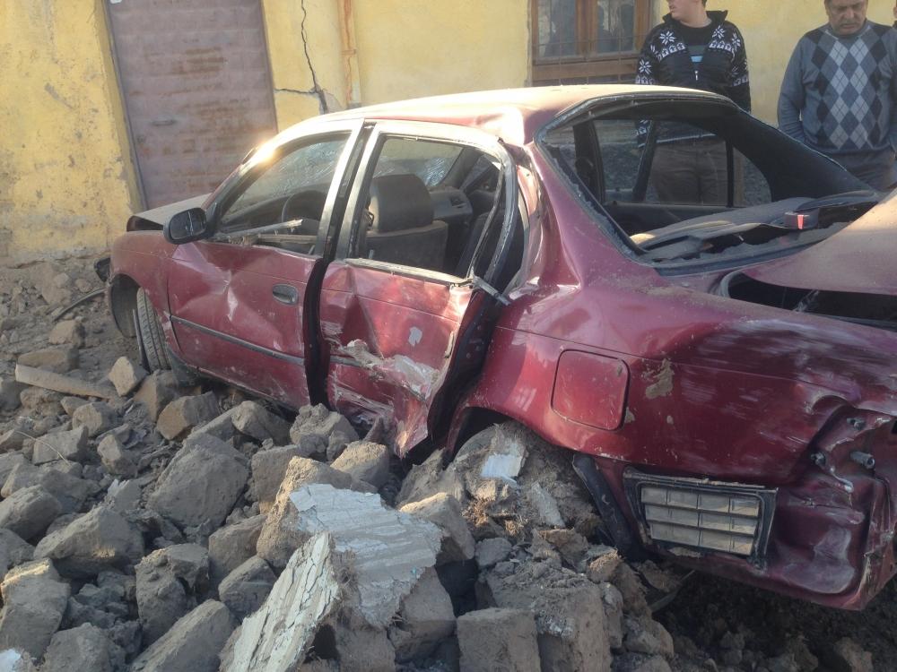 Konya'da otomobil kaldırımdaki çocuğa çarptı 6