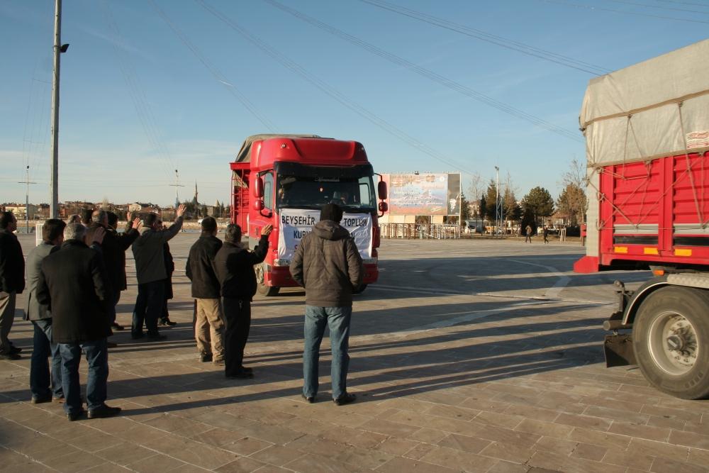 Konya ve Aksaray'dan Suriye'ye yardım 2
