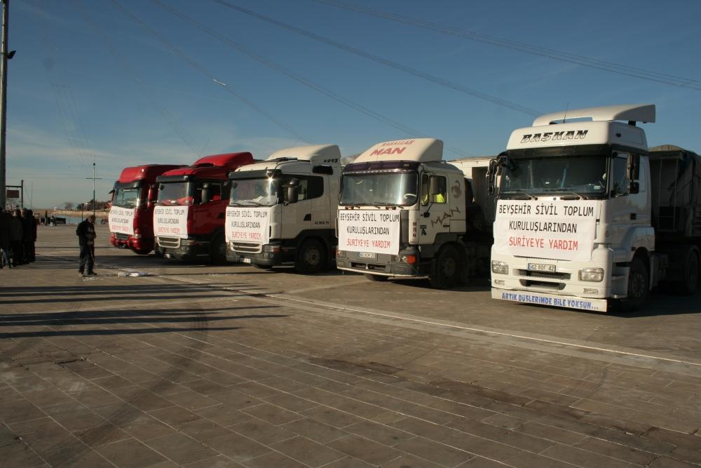 Konya ve Aksaray'dan Suriye'ye yardım 3