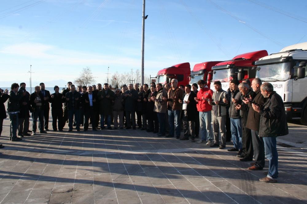 Konya ve Aksaray'dan Suriye'ye yardım 4