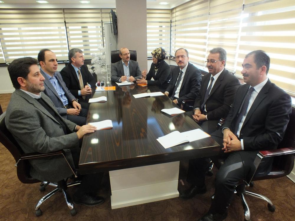 Ak Parti Konya Koordinasyon Toplantısı Yapıldı 1
