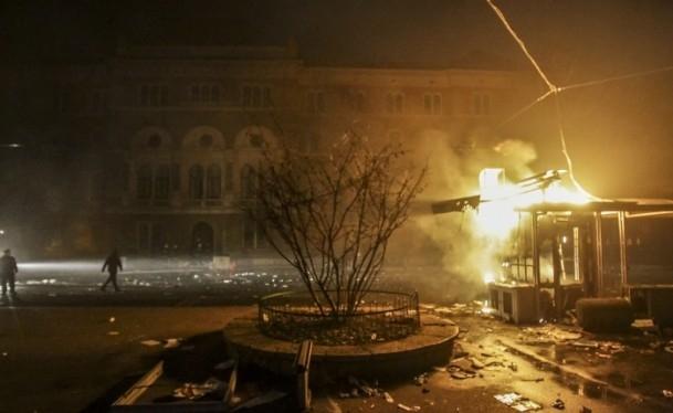 Bosna Hersek'te protestolar sürüyor 38