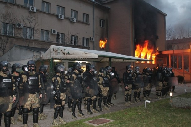 Bosna Hersek'te protestolar sürüyor 47