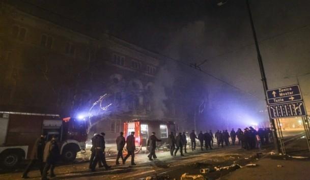 Bosna Hersek'te protestolar sürüyor 9