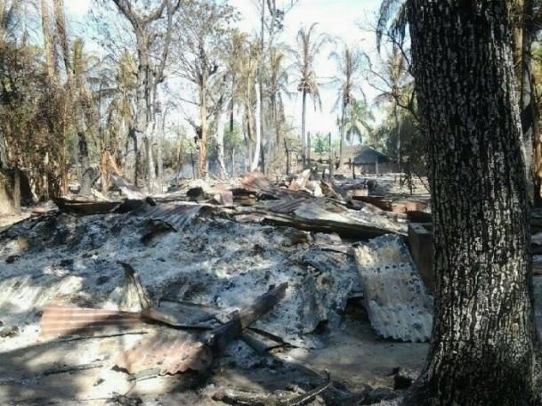 Myanmar'daki köy baskını 3