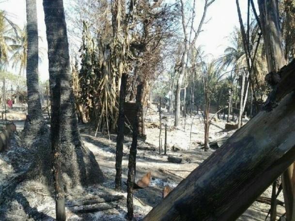 Myanmar'daki köy baskını 4
