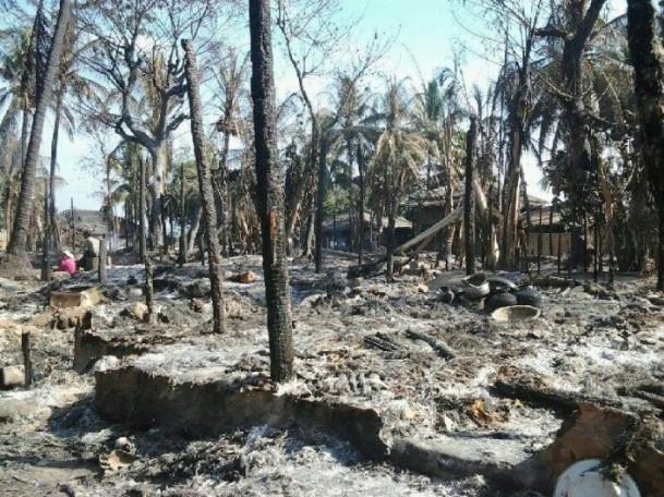 Myanmar'daki köy baskını 6