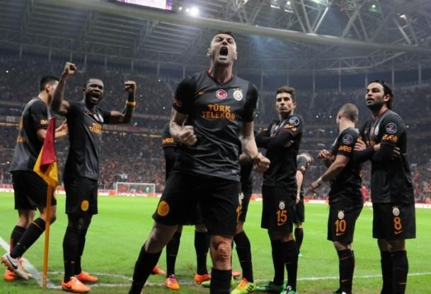 Arena'da Galatasaray kazandı 3