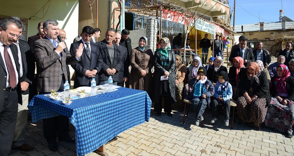 Tahir Akyürek'in belde ziyaretleri 7