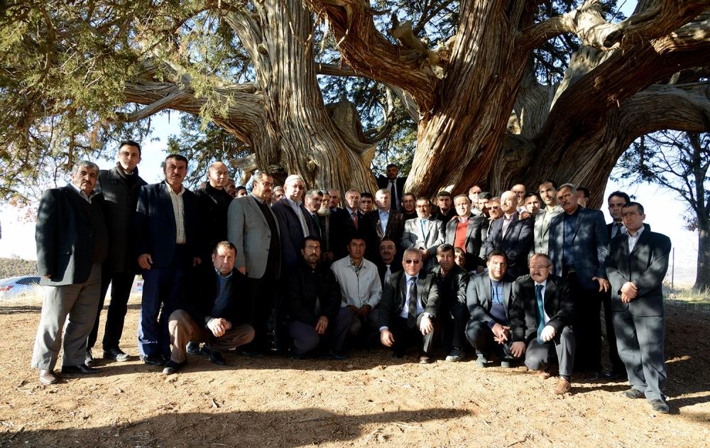 Tahir Akyürek'in belde ziyaretleri 9