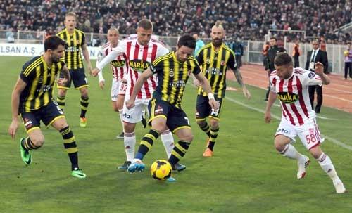 Sivasspor 2-Fenerbahçe 0 31