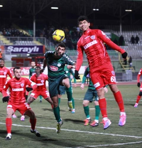Torku Konyaspor: 2 - Karabükspor: 3 20