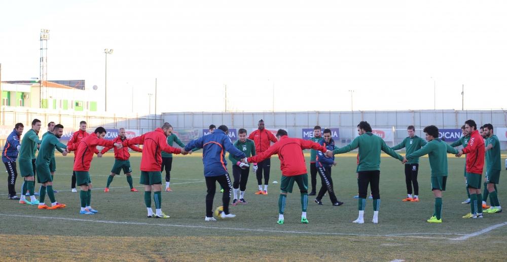 Torku Konyaspor'da neşeli antrenman 3