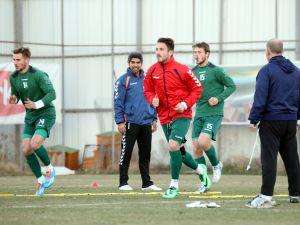 Torku Konyaspor'da neşeli antrenman