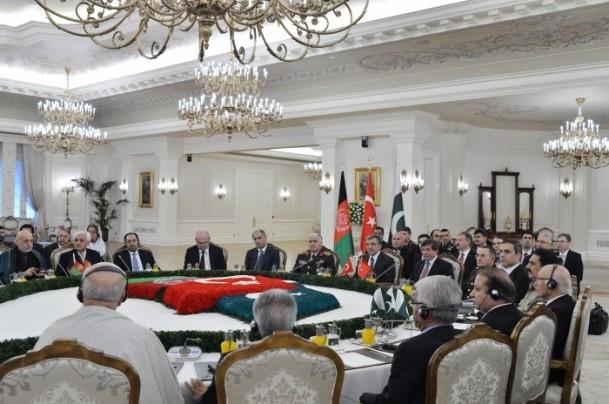 Türkiye-Afganistan-Pakistan Üçlü Zirvesi 1