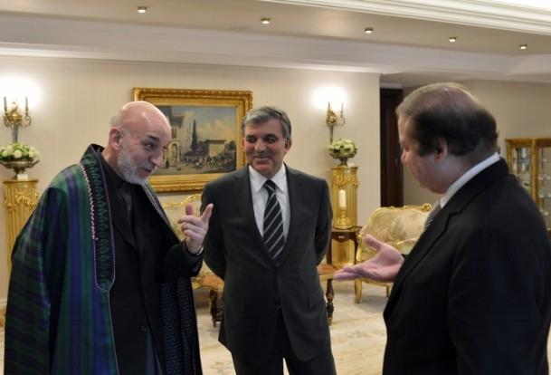 Türkiye-Afganistan-Pakistan Üçlü Zirvesi 8