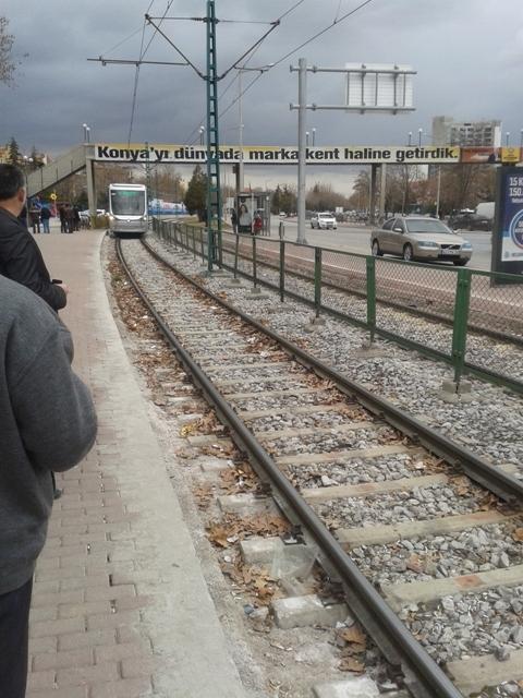 Konya'ya gelen yeni tramvay yolcu taşımaya başladı 21