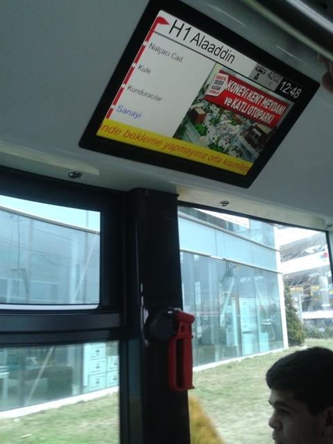 Konya'ya gelen yeni tramvay yolcu taşımaya başladı 23
