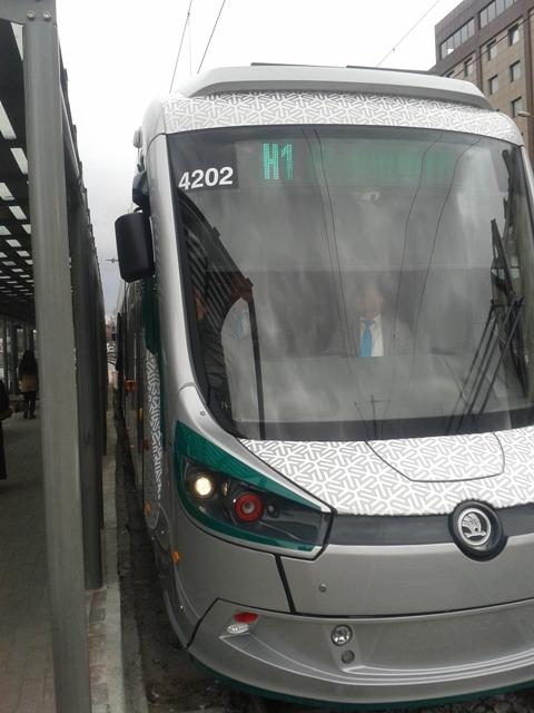 Konya'ya gelen yeni tramvay yolcu taşımaya başladı 36